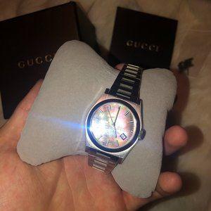 Gucci Rare Rainbow Pantheon Watch